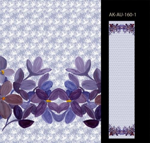 Акварельные цветы и кружева. Диджитал