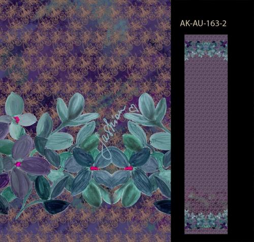 Акварельные цветы и гранжевые кружева. Диджитал